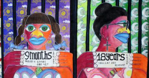 "LurLynn Franklin: ""9 Months, 18 Years (with age progression)"""