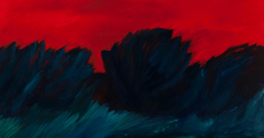 Desert Nightfall by Dick Evans