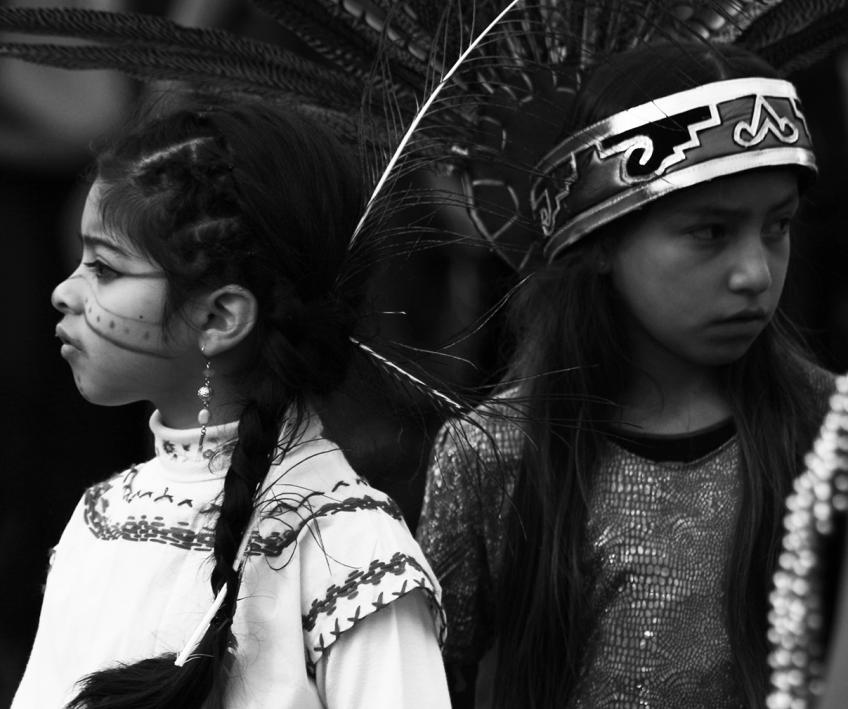 Native American Children photography by Rennett Stowe