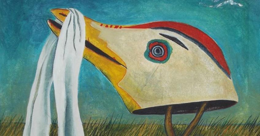Totem II by Linda Laino detail