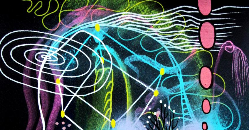Filigree Cosmic III, 2016 by Mauricio Paz Viola, detail
